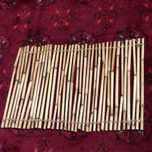 BAMBOO PLACEMAT , natural material